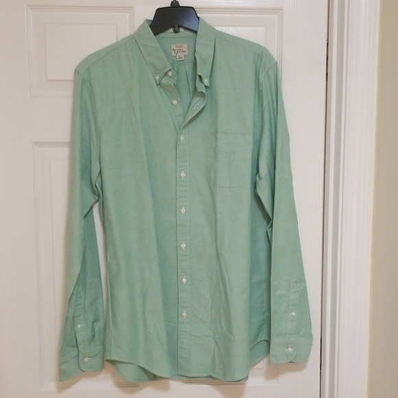 J. Crew Oxford Classic Cotton ButtonDown Shirt XLT